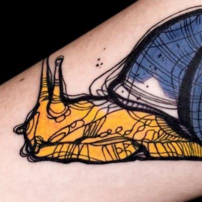 tatuaje estilo sketch work
