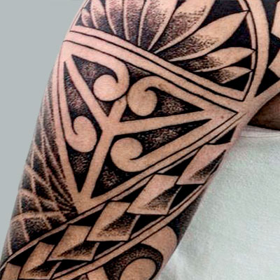 tatuaje estilo tribal