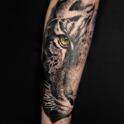 tatuaje estilo realismo